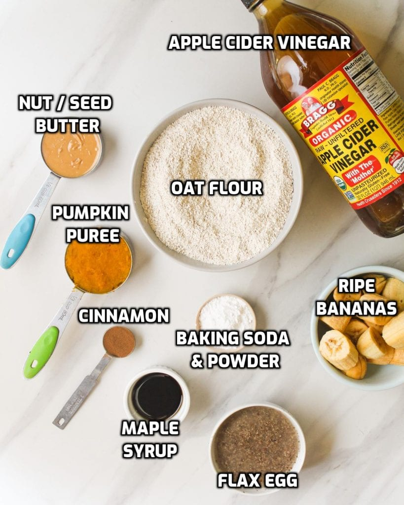 Ingredients needed to the bread